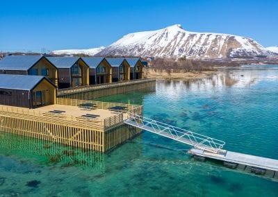 Sjøhusene og brygga
